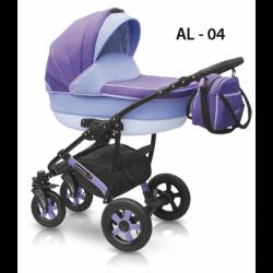 04 - Детская коляска Camarelo Alicante (2 в 1)