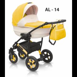 14 - Детская коляска Camarelo Alicante (2 в 1)