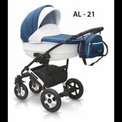 21 - Детская коляска Camarelo Alicante (2 в 1)