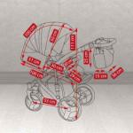 Детская коляска Camarelo Pireus 2 в 1