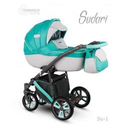 Su-1 - Детская коляска Camarelo Sudari 3 в 1