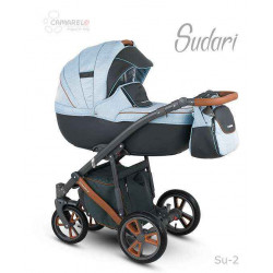 Su-2 - Детская коляска Camarelo Sudari 3 в 1
