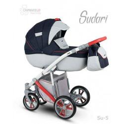 Su-5 - Детская коляска Camarelo Sudari 3 в 1