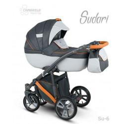 Su-6 - Детская коляска Camarelo Sudari 3 в 1