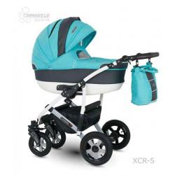 XCR-5a - Детская коляска Camarelo Carmela 3 в 1