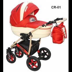 CR-01 - Детская коляска Camarelo Carmela 3 в 1