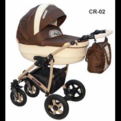 CR-02 - Детская коляска Camarelo Carmela 3 в 1