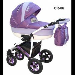 CR-06 - Детская коляска Camarelo Carmela 3 в 1