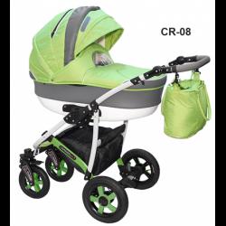 CR-08 - Детская коляска Camarelo Carmela 3 в 1