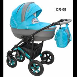 CR-09 - Детская коляска Camarelo Carmela 3 в 1