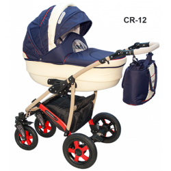 CR-12 - Детская коляска Camarelo Carmela 3 в 1