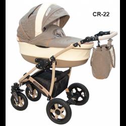 CR-22 - Детская коляска Camarelo Carmela 3 в 1