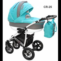 CR-25 - Детская коляска Camarelo Carmela 3 в 1