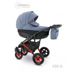 XSE-06 - Детская коляска Camarelo Sevilla 2 в 1