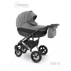 XSE-08 - Детская коляска Camarelo Sevilla 3 в 1