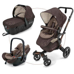 Toffee Brown 2017 - Коляски Concord Neo Travel Set (3 в 1), люлька Sleeper, автокресло Air