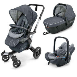 graphite grey - Коляски Concord Neo Travel Set (3 в 1), люлька Sleeper, автокресло Air