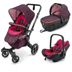 rose pink - Коляски Concord Neo Travel Set (3 в 1), люлька Sleeper, автокресло Air