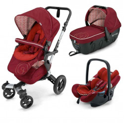 tomato red - Коляски Concord Neo Travel Set (3 в 1), люлька Sleeper, автокресло Air