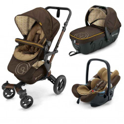 walnut brown - Коляски Concord Neo Travel Set (3 в 1), люлька Sleeper, автокресло Air