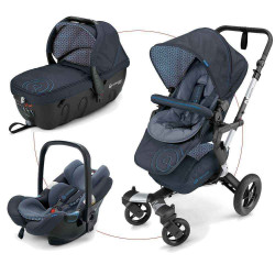 Deep Water Blue - Коляски Concord Neo Travel Set (3 в 1), люлька Sleeper, автокресло Air