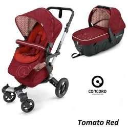 tomato red - Детская коляска Concord Neo 2 в 1