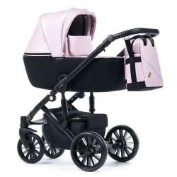 Розовый - Детская коляска DeLorean Active 3 в 1