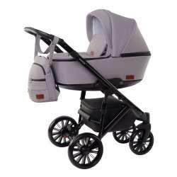Soft Grey - Детская коляска DeLorean Smart 2 в 1