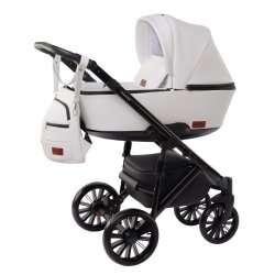 White - Детская коляска DeLorean Smart 3 в 1