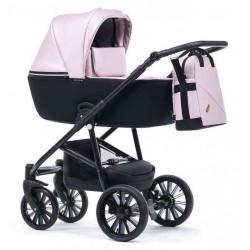Розовый - Детская коляска DeLorean Uno 3 в 1