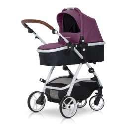 Purple - Детская коляска EasyGo Optimo 2 в 1
