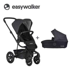 Night Black - Детская коляска EasyWalker Harvey All-Terrain 2в1
