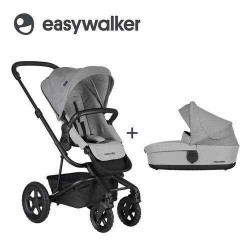 Stone Grey - Детская коляска EasyWalker Harvey All-Terrain 2в1