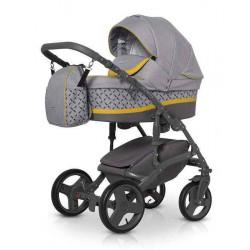 01 Yellow - Детская коляска Expander ASTRO 3 в 1