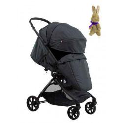 Dark Gray - Детская прогулочная коляска Farfello Airy