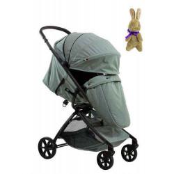 Gray Green - Детская прогулочная коляска Farfello Airy