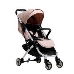Бежевый - Детская прогулочная коляска Farfello S600