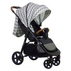 Blue - Детская прогулочная коляска Farfello ZIGZAG