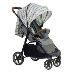 Gray - Детская прогулочная коляска Farfello ZIGZAG