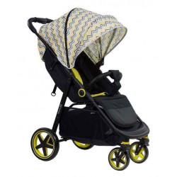 Yellow - Детская прогулочная коляска Farfello ZIGZAG