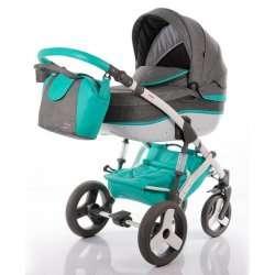 03-sedomodra - Детская коляска Junama Impulse Colors 2 в 1
