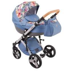 Blue & Flowers - Lonex Comfort Carrello 3 в 1