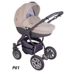 P01 - Детская коляска Lonex Sweet Baby Pastel 2 в 1