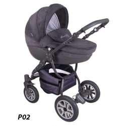 P02 - Детская коляска Lonex Sweet Baby Pastel 2 в 1