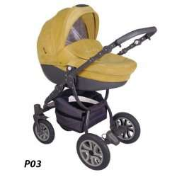P03 - Детская коляска Lonex Sweet Baby Pastel 2 в 1