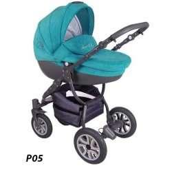 P05 - Детская коляска Lonex Sweet Baby Pastel 2 в 1
