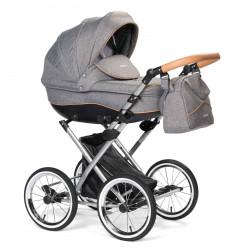Gray - Детская коляска LONEX PARRILLA 2 в 1