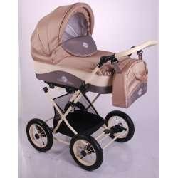 02 - Детская коляска Lonex JULIA BARONESSA 3 в 1