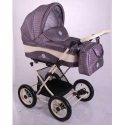 03 - Детская коляска Lonex JULIA BARONESSA 3 в 1