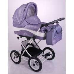 04 - Детская коляска Lonex JULIA BARONESSA 2 в 1